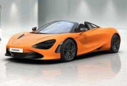 El nuevo McLaren 720S Spider ya está disponible en el configurador online