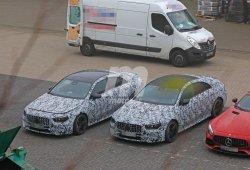 Los Mercedes-AMG CLA 35 y CLA 45 se dejan ver en sus últimas pruebas