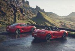 Nuevos Porsche 718 Boxster T y 718 Cayman T: esencia básica