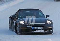 Primeras imágenes del nuevo Porsche 911 Turbo S Cabriolet (992)