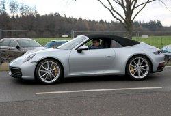 El nuevo Porsche 911 Carrera S Cabriolet (992) sin camuflaje al detalle