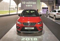 SEAT produce el vehículo 10 millones en Martorell