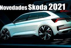 Los planes de Skoda hasta 2021: nuevos modelos y dos SUV eléctricos