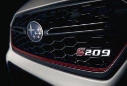 Subaru confirma el lanzamiento del nuevo WRX STI S209 en Detroit