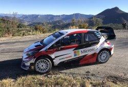 Toyota también inicia los test del Rally de Montecarlo 2019