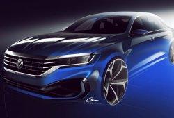 Volkswagen USA adelanta el nuevo Passat 2020 que será presentado en Detroit