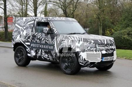 Land Rover anuncia ya la presentación del nuevo Defender en 2019