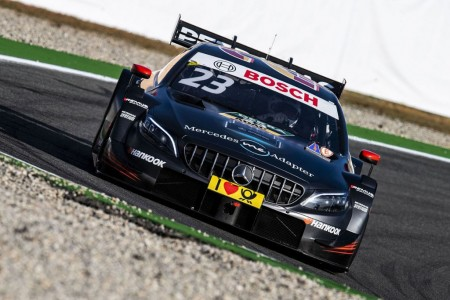 Mercedes evaluará a cuatro pilotos sobre su DTM en Jerez
