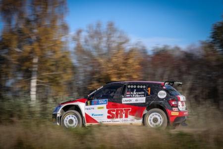 Nikolay Gryazin, campeón del ERC Junior U28, salta a WRC2
