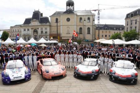 Porsche repetirá con cuatro 911 RSR GTE en Le Mans 2019