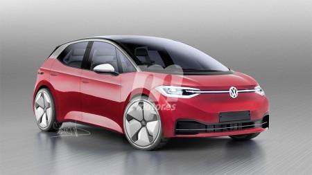Adelantamos el diseño del Volkswagen ID. Neo, primer eléctrico de la firma alemana