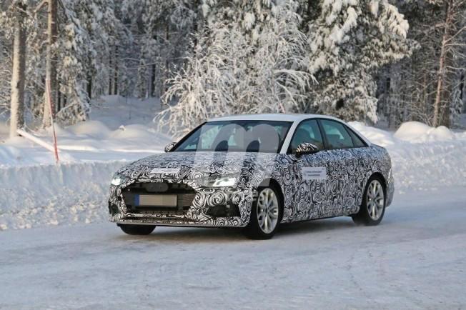Audi A4 2020 - foto espía