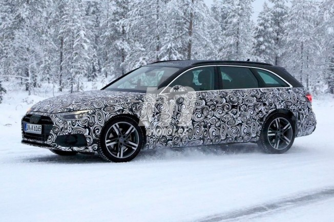Audi A4 Avant 2020 - foto espía