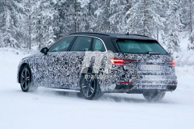 Audi A4 Avant 2020 - foto espía posterior