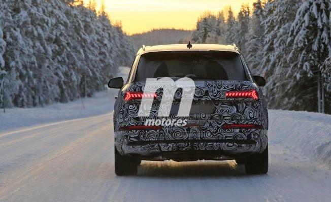 Audi Q7 2020 - foto espía posterior