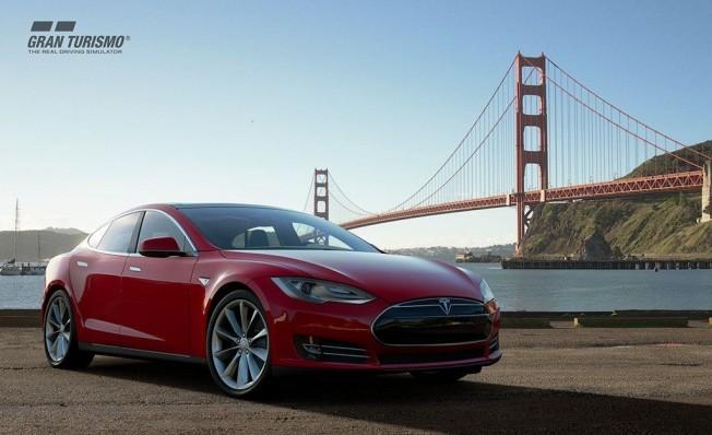 Tesla Model S en Gran Turismo Sport