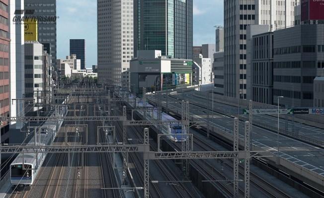 La ruta sur de la Autopista de Tokio en Gran Turismo Sport