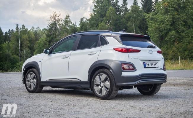 Hyundai Kona Eléctrico - posterior