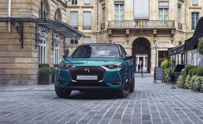 DS 3 Crossback - frontal