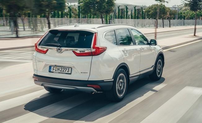 Honda CR-V Hybrid - posterior
