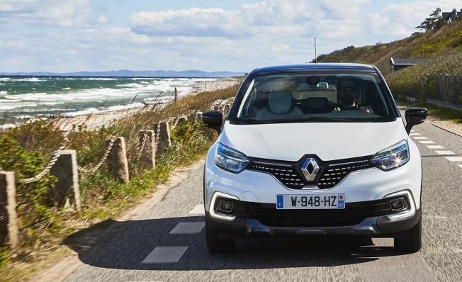 Renault Captur - frontal
