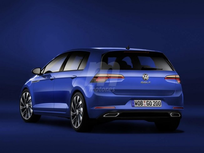 Volkswagen Golf 2019 - recreación