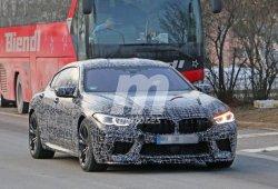 BMW continúa con las pruebas del nuevo M8 Gran Coupé, la berlina más rápida del fabricante
