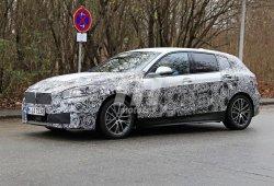El nuevo BMW Serie 1 nos muestra sus ópticas y llantas definitivas