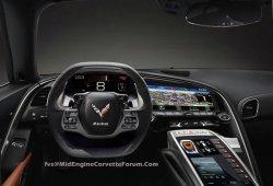 Filtrado el interior del nuevo Chevrolet Corvette C8 al desnudo