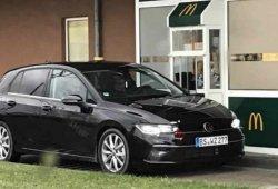 El nuevo Volkswagen Golf Mk8, al descubierto en las fotos espía más reveladoras