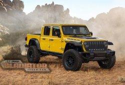 El nuevo Jeep Gladiator se embrutecerá con la versión Hércules de alto rendimiento