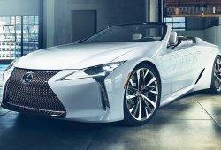 Lexus LC Cabrio Concept, jugando con la idea de una variante descapotable