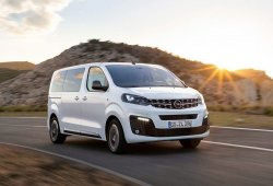 Opel Zafira Life, la alternativa al Citroën SpaceTourer y Peugeot Traveller
