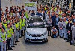 Una historia de éxito: producido el Peugeot 2008 un millón en Mulhouse
