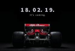 Sauber anuncia la fecha de presentación para su monoplaza de 2019
