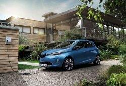 Francia - Diciembre 2018: El Renault Zoe dispara sus ventas