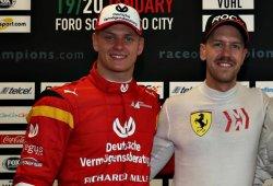 """Vettel pide paciencia con Mick Schumacher: """"No hay que presionarle demasiado"""""""