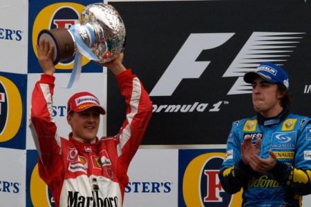 """Alonso: """"Mis batallas con Schumacher fueron mis mejores momentos"""""""