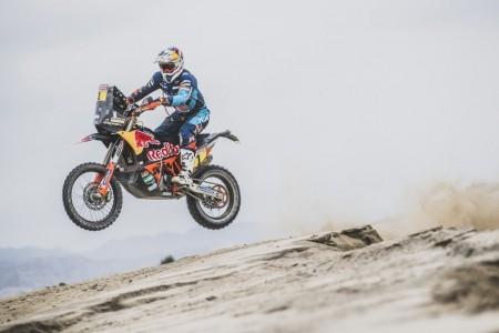 Dakar 2019, etapa 2: Walkner le quita la victoria a Brabec