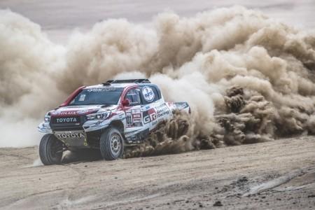 Dakar 2019, etapa 4: Nasser Al-Attiyah gana a Peterhansel