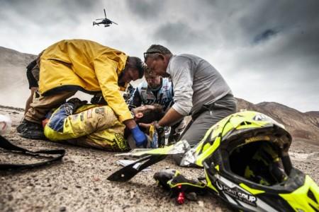 Dakar 2019, etapa 8: El parte de 'guerra' de Santolino
