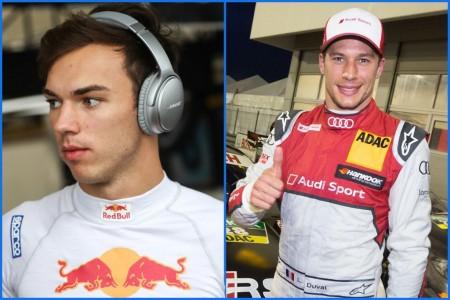 Gasly y Duval, pareja francesa en la Race of Champions