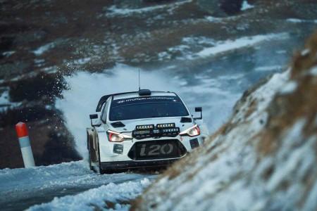 Sébastien Loeb ya rueda con el Hyundai i20 WRC Coupé
