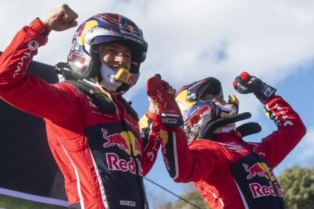 Sébastien Ogier, primer líder del WRC tras ganar el 'Monte'
