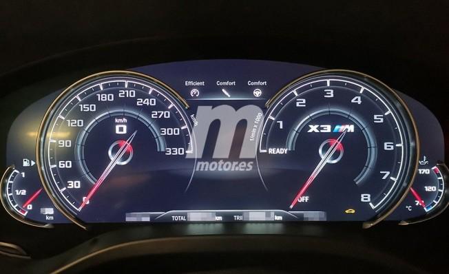 BMW X3 M - foto espía