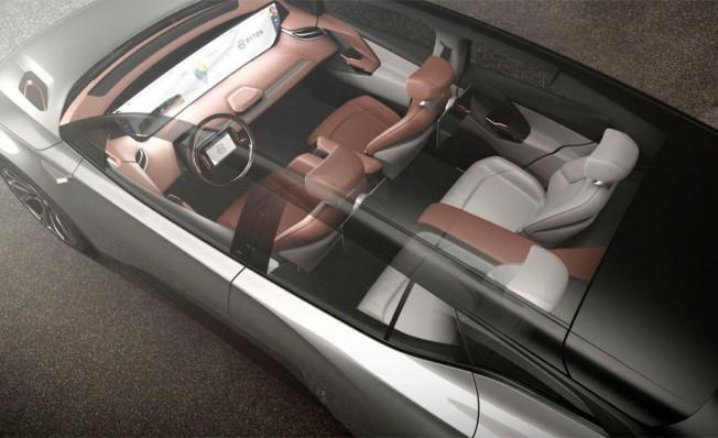 Byton M-Byte Concept - interior