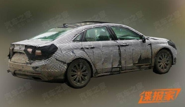 2015 - [Ford] Taurus VII - Page 2 Ford-taurus-china-facelift-fotos-espia-201953581_2