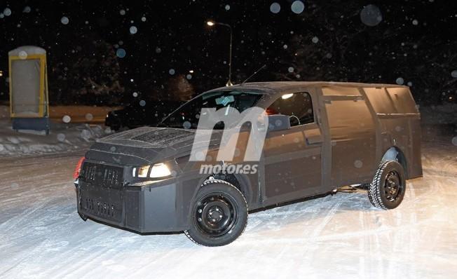 Fiat Mobi Pick-up - foto espía