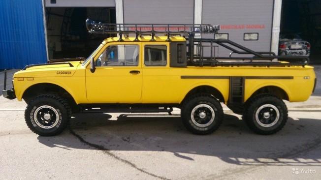 Lada Niva 6x6 Pick-up
