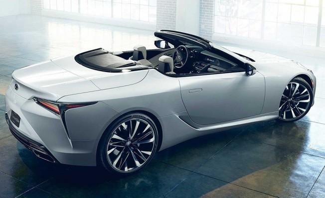 Lexus LC Cabrio Concept - posterior